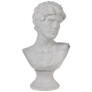 Ceramic Bust Male Head