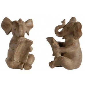 Elephant Bookends Set of 2