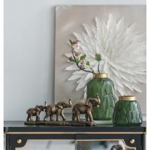 Elephant Family Decor