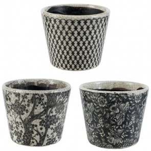 Herb Pots Set of 3