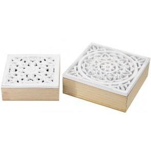 Set of 2 Decorative Boxes