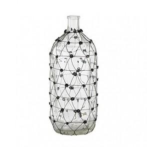 Glass Wire Vase