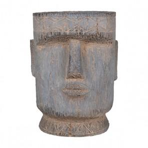Easter Island Statue Planter