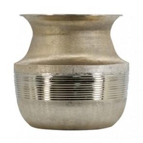 Aluminium Pot Vase III