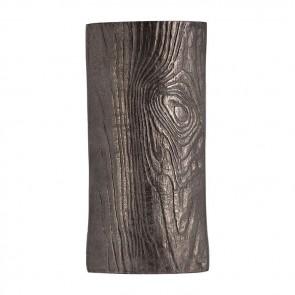 Aluminium Timber Eye Vase