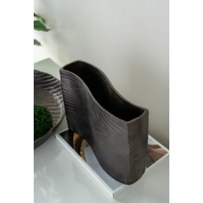 Aluminium Wavy Vase
