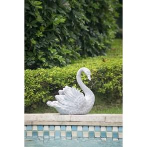 Outdoor Swan Planter II