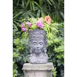Buddha Planter Head