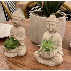 Set of 2 Sitting Buddhas