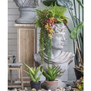Greek God Garden Planter