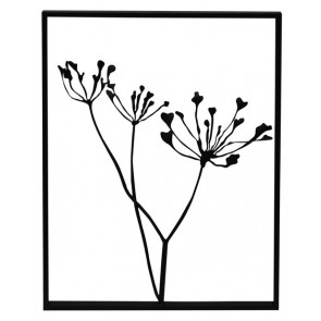 Metal Floral Wall Hanging