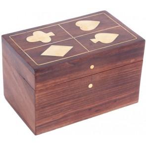 Wooden Card Box Walnut