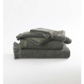 Tusca Towel Collection by MM Linen Lichen