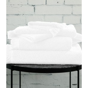 Tusca Towel Collection by MM Linen White