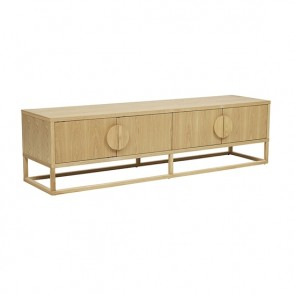 Benjamin Entertainment Unit - Natural Ash
