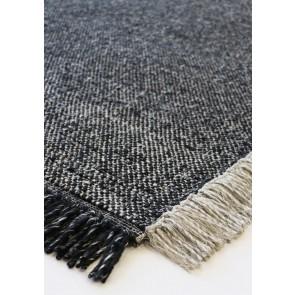 Mulberi Ulster Black/Natural Floor Rug