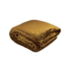 Ultraplush Blanket by Bambury - Tobacco