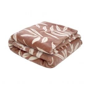 Hakea Ultraplush Blanket by Bambury - \Woodrose
