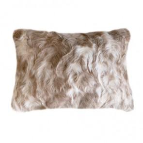 Heirloom Vintage Squirrel Fawn Long Cushion