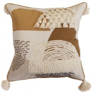 Mulberi Vito Ochre/Putty Cushion