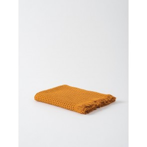 Waffle Beach Towel Set of 2 - Pumpkin