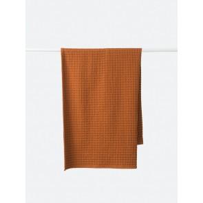 Waffle Organic Cotton Bath Towel - Chestnut