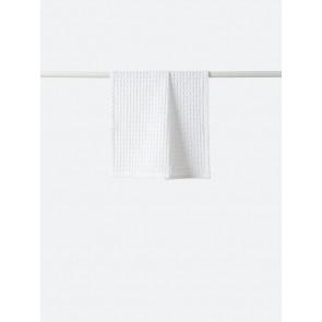Waffle Organic Cotton Hand Towel White - 4 Pack