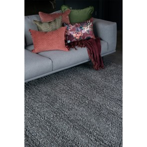 Wanaka Dark Grey Floor Rug