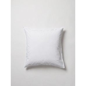 Washed 100% Organic Cotton Euro Pillowcase Pair