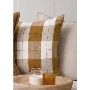 Mulberi 100% Line Willis – Ochre Ivory Cushion
