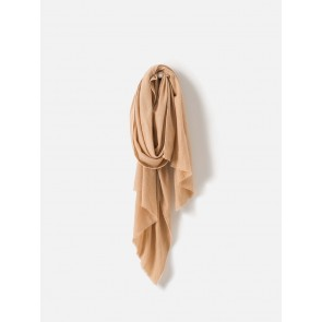 Wool Cashmere Blend Scarf Oat