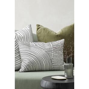 Mulberi Zachary Black/Off White Cushion