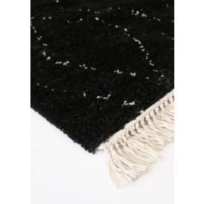 Mulberi Zafir Floor Rug - Black-Ecru