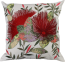 Mulberi NZ Pohutukawa Embroidered Cushion