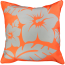 Limon Indoor & Outdoor Cushion Hibiscus Orange
