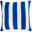 Mulberi In & Outdoor Cushion Cruise Stripe - Classic Blue
