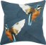 Mulberi Flying Kingfisher Cushion