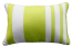 Limon River Stripe In & Outdoor Lime Cushion