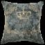 Mulberi Elizabeth Forest Green-Gold Cushion