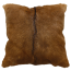 Mulberi Adore Natural Goat Fur Cushion - Natural Brown