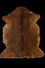 Mulberi Adore Natural Goat Fur Hide - Natural Brown