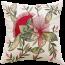 Limon Pohutukawa Blooms Natural/Red Cushion