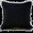 Reverse Heirloom Dark Pheasant Square Cushion