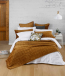 Meeka Quilted Comforter Set by MM Linen - Chestnut