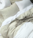Laundered Linen Valance by MM Linen  Natural