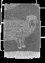 Mulberi Woolly Lamb 100% Wool Throw